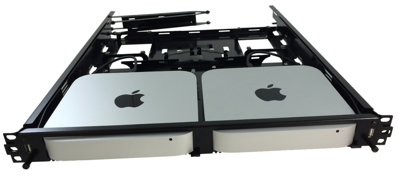Apple Mac Mini Rack Mout Mac Mini SANlink