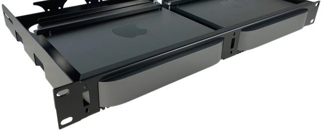 Fixed Rack Mount Apple Mac Mini Server