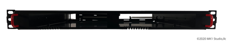 Rack Mount for 2 Lenovo ThinkStation Tiny Workstation w/ power supplies