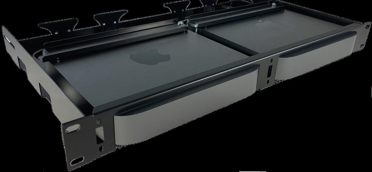 Mac Mini Rack Mount | MMR-2G-1U | MK1 Manufacturing