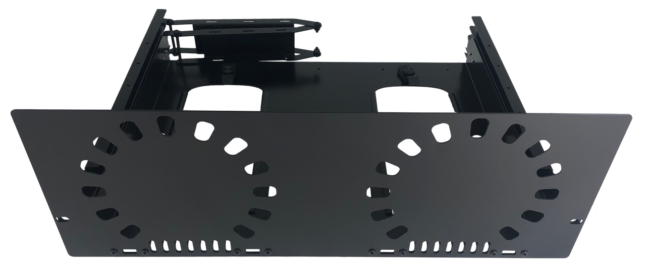Mounted Baffle Plate on face of MPR-2X