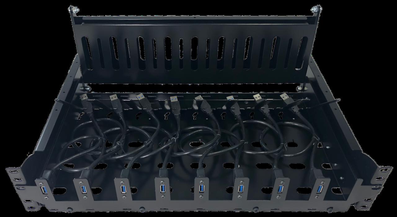 USB Plate on MMR-2G-5URS